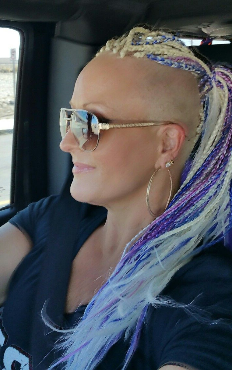 Most Recently Released Short Blonde Braids Mohawk Hairstyles With White Girl Braids Mohawk Platinum Best Hair Ever In (View 15 of 20)
