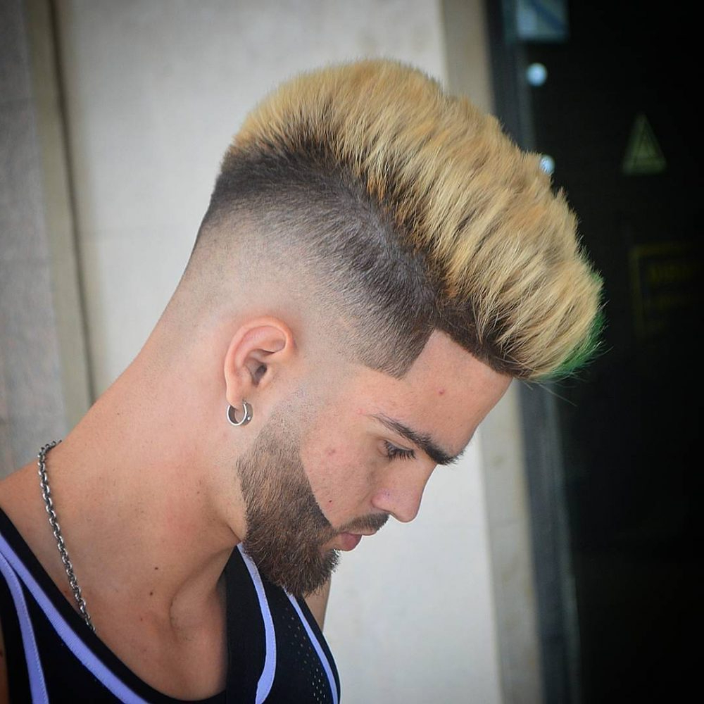 Most Up To Date Medium Length Blonde Mohawk Hairstyles Throughout 29 Best Medium Length Hairstyles For Men (legit For 2019) (View 15 of 20)