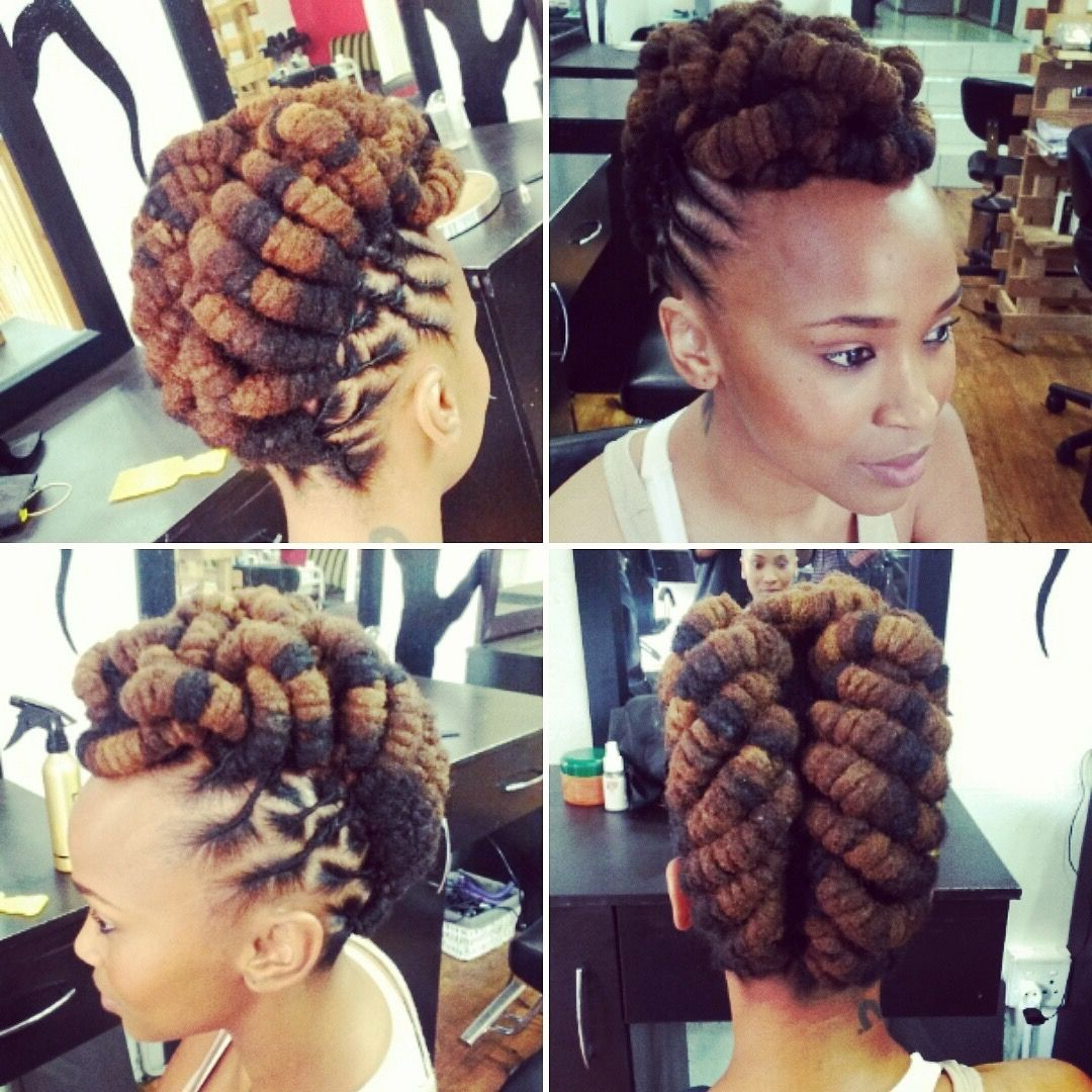 Natural Hair Styles (View 16 of 20)