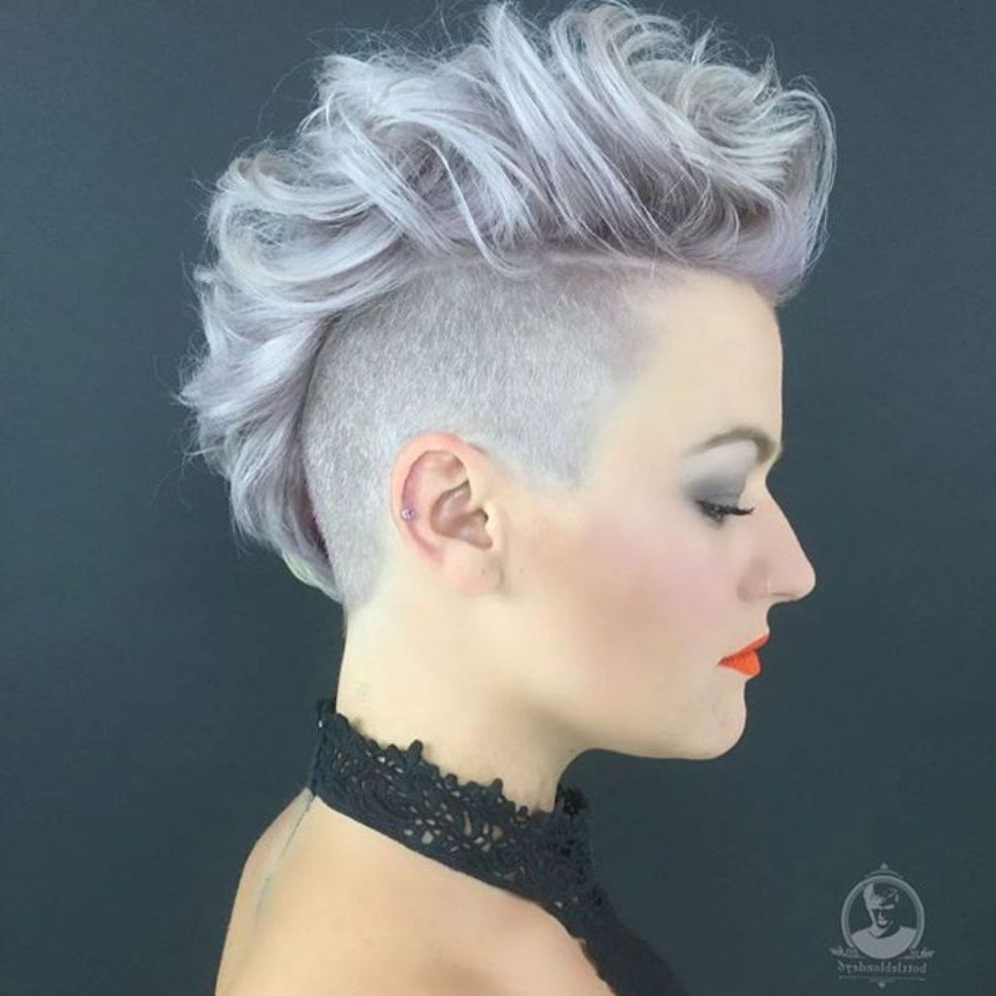 New Do With Preferred Blonde Curly Mohawk Hairstyles For Women (View 13 of 20)