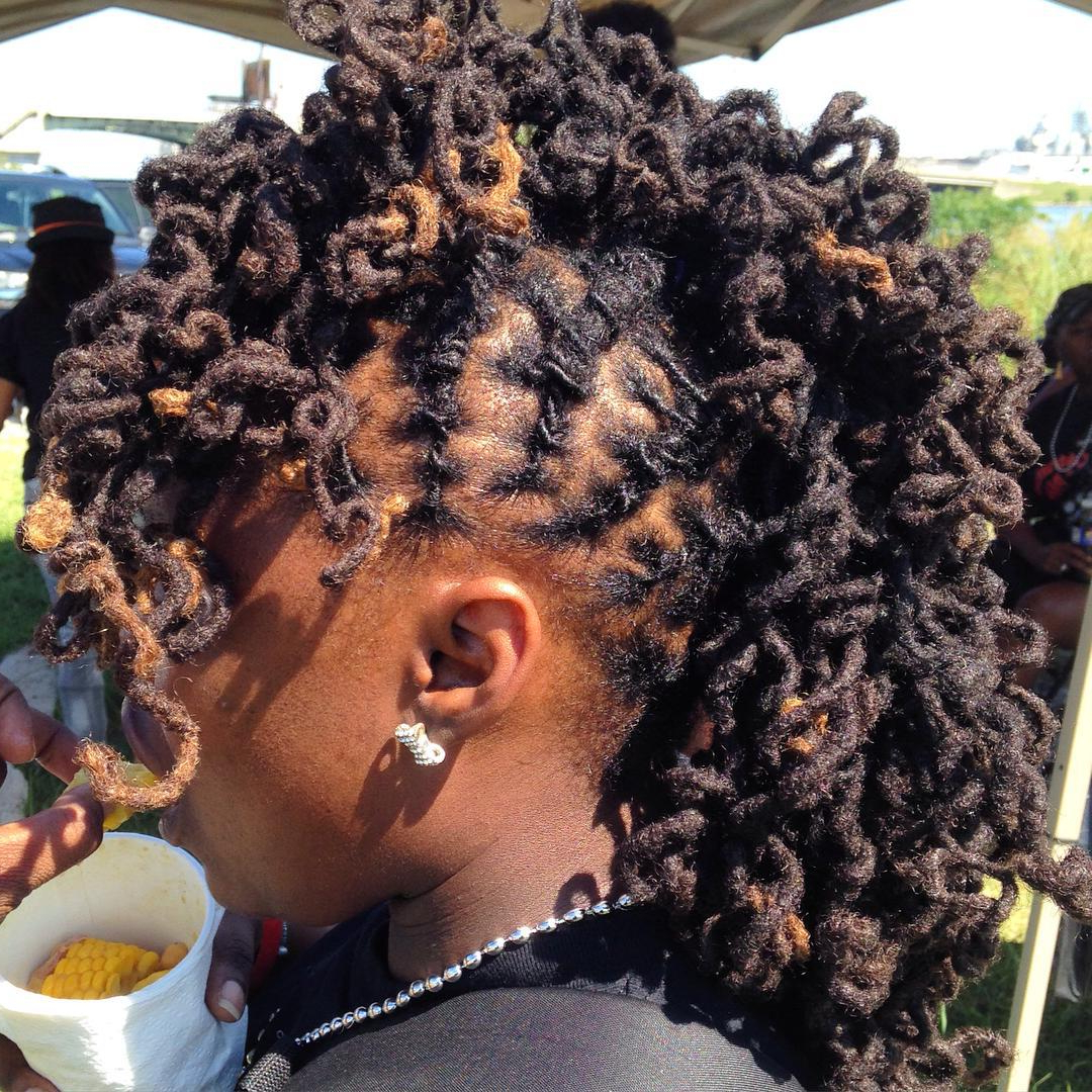 Newest Dreadlocked Mohawk Hairstyles For Women For 15 Gorgeous Mohawk Hairstyles For Women This Year (View 3 of 20)