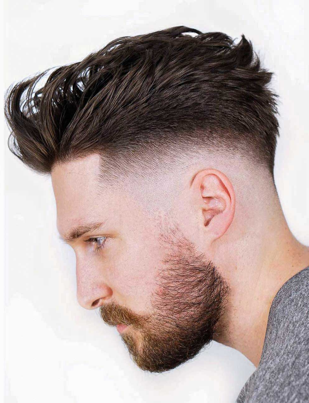Newest Sharp And Clean Curly Mohawk Haircuts With Regard To 70+ Skin Fade Haircut Ideas (trendsetter For 2019) (View 13 of 20)
