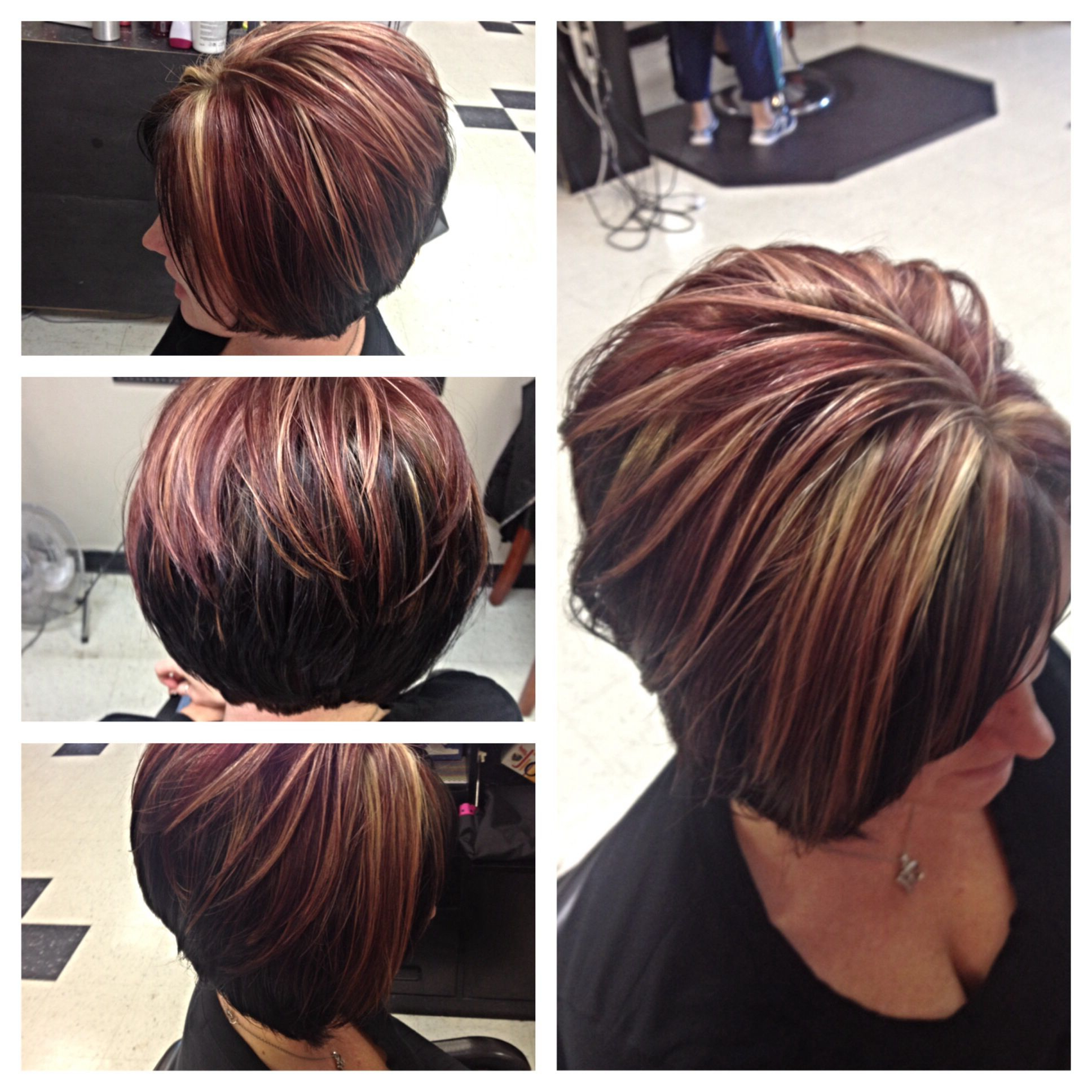 Pin On Color Pertaining To Highlighted Short Bob Haircuts (View 17 of 20)