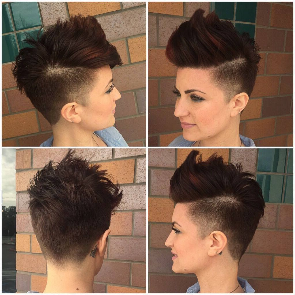 Pin On Compilations! Within Latest Pixie Faux Hawk Haircuts (View 16 of 20)