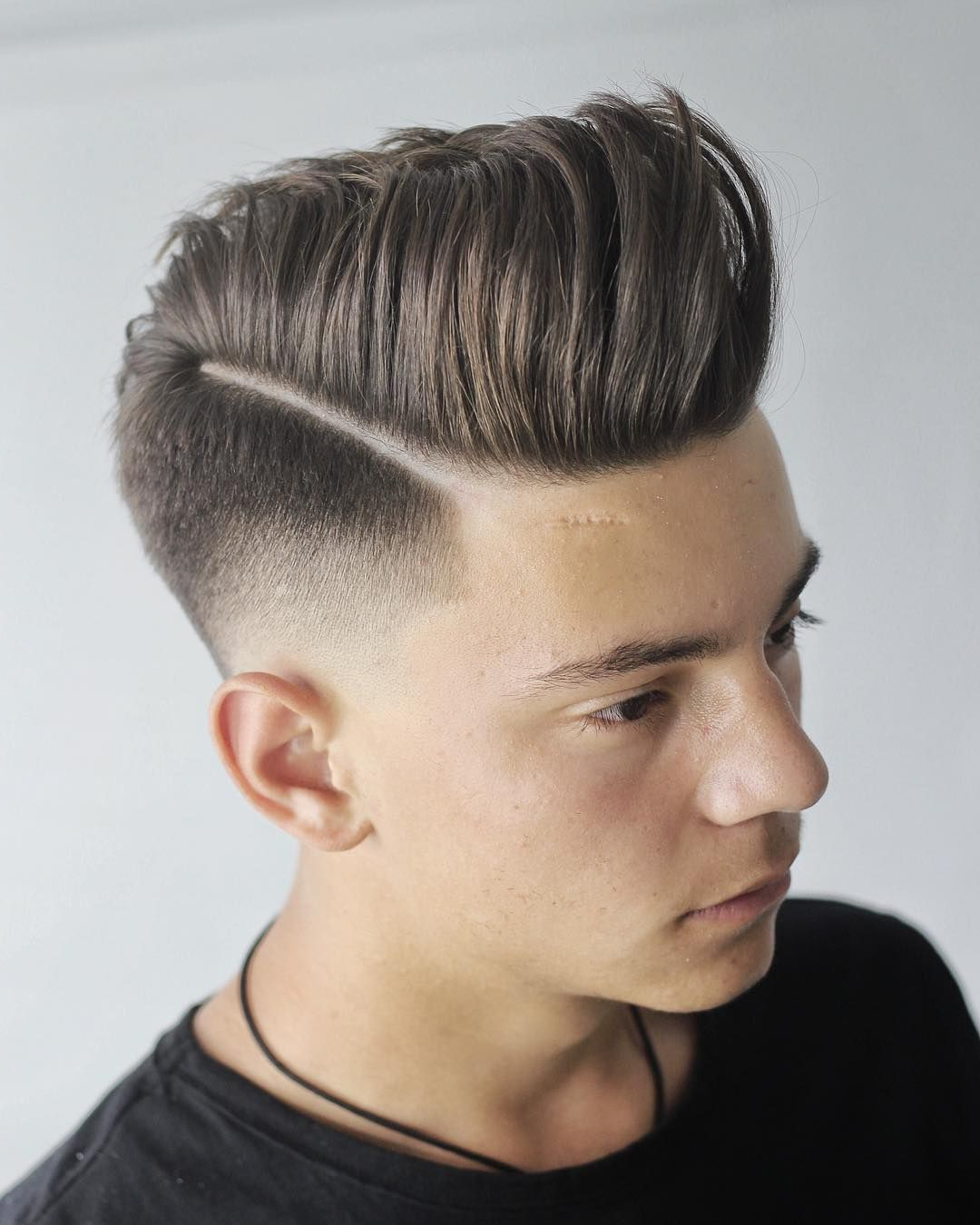 Pin On Hair Cuts For Well Known Mohawk Haircuts On Curls With Parting (View 8 of 20)