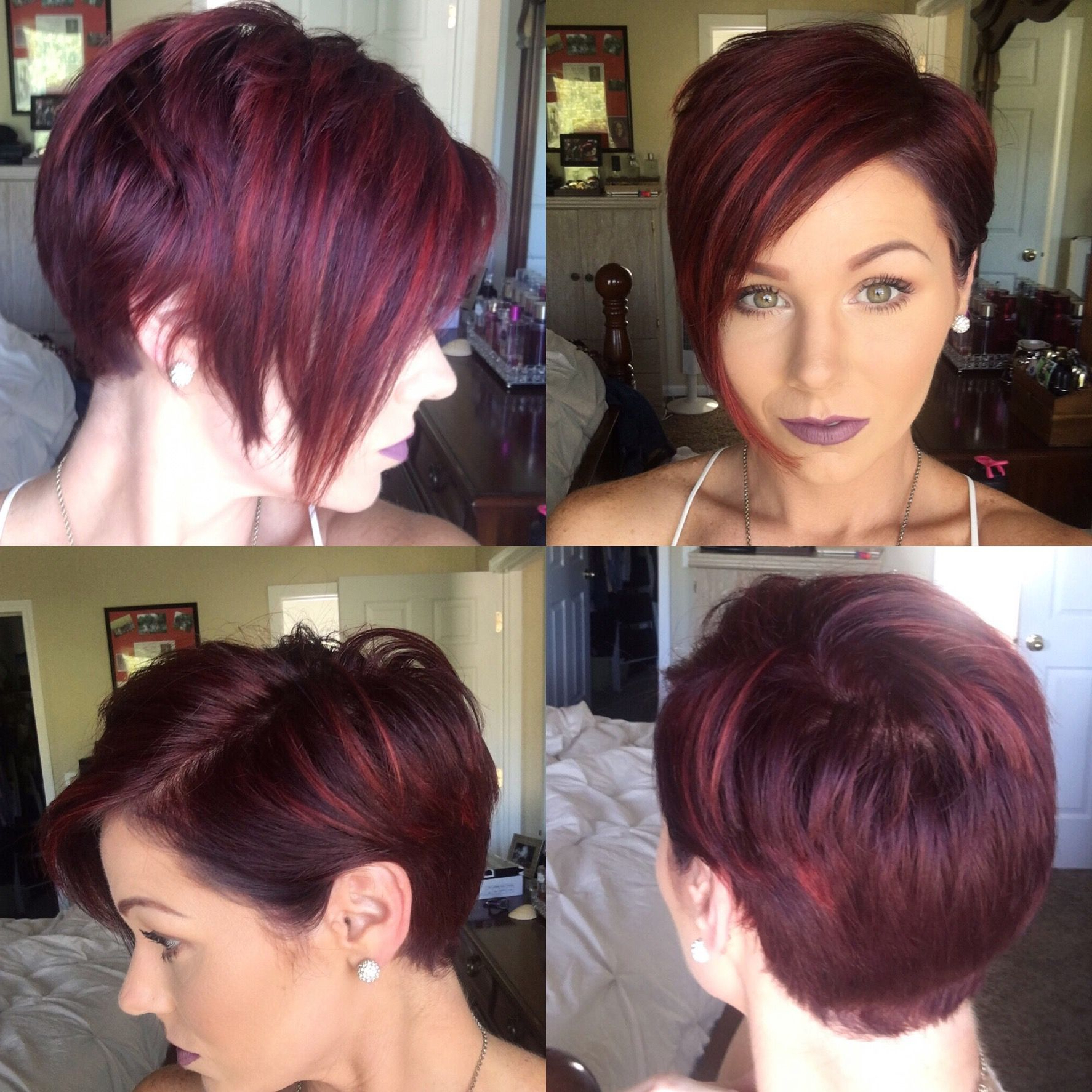 Pin On Hair For Edgy Red Hairstyles (View 12 of 20)