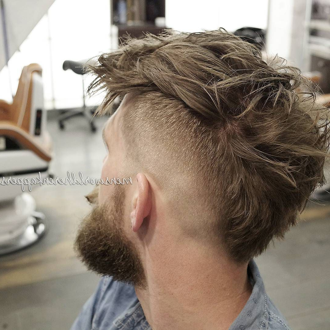 Featured Photo of Messy Curly Mohawk Haircuts