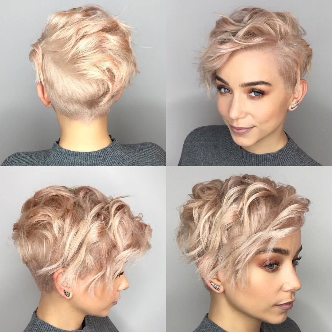 Pin On Hair & Nails Inside Pastel Pixie Haircuts With Curly Bangs (View 12 of 20)