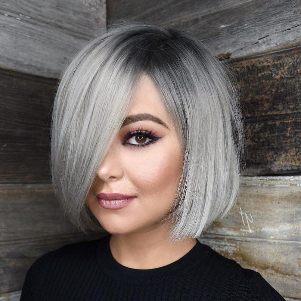 Pin On Hair Pertaining To Silver Short Bob Haircuts (View 9 of 20)