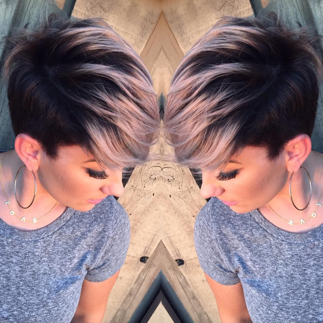 Pin On Hairstyles & Make Up Pertaining To Pastel Pixie Haircuts With Curly Bangs (View 5 of 20)