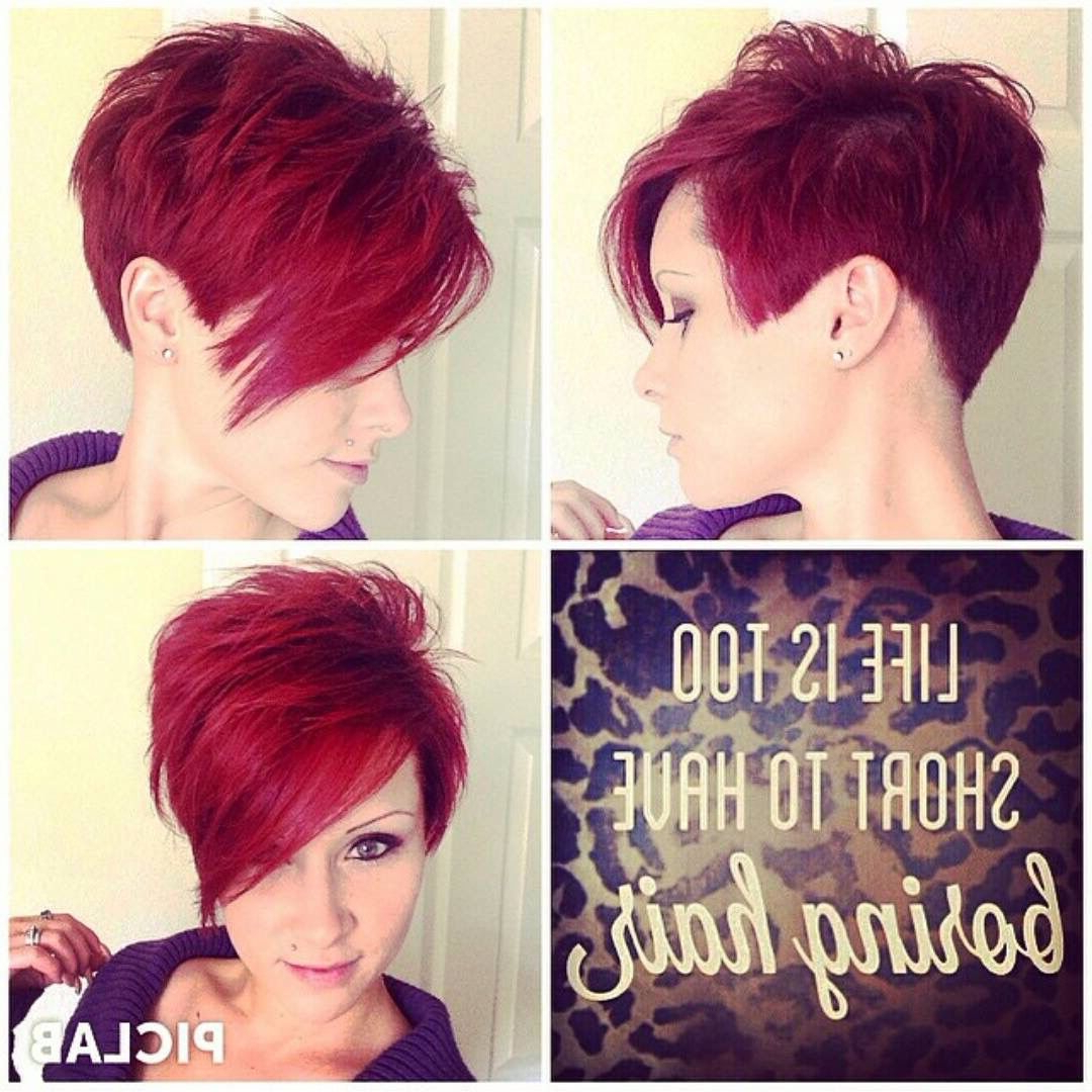 Pin On My Style With Regard To Bold Pixie Haircuts (View 15 of 20)