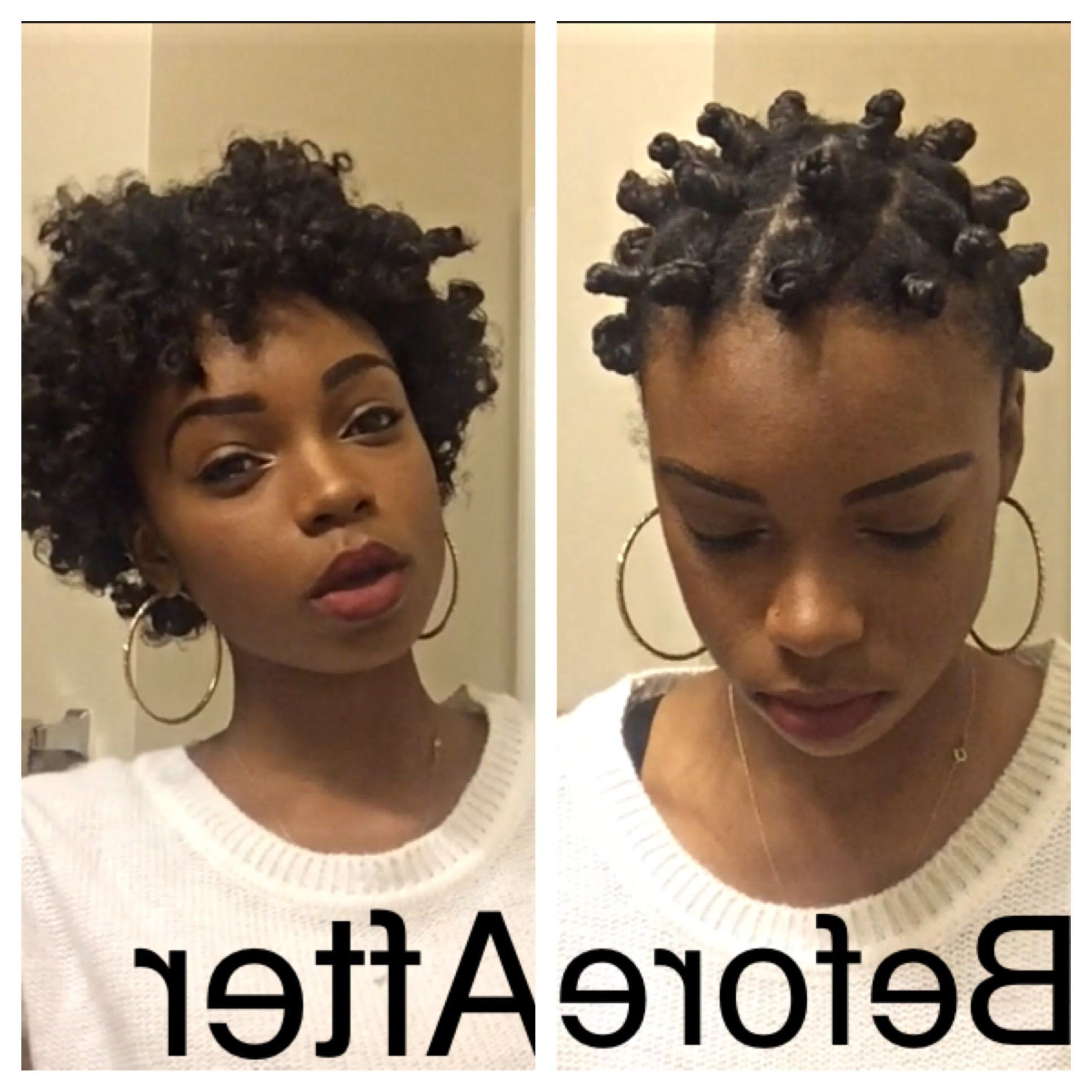 Pin On Natural Hair In Well Liked Twisted Bantu Mohawk Hairstyles (View 16 of 20)