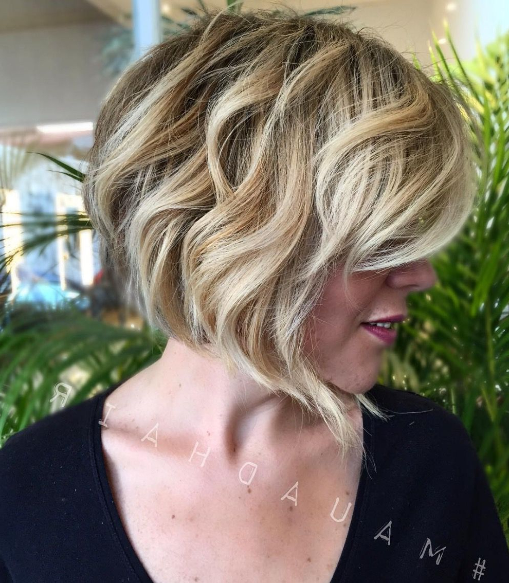 Pin On Sassy Cuts~ For Short Bob Haircuts With Waves (View 4 of 20)