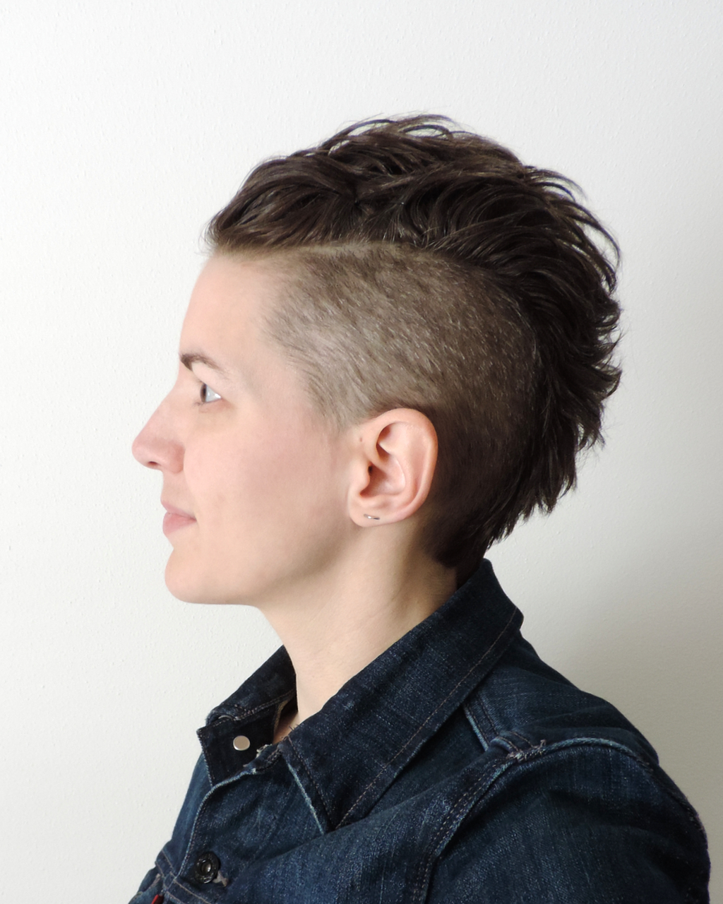 Pin On Short Hair For 2021 Short Hair Inspired Mohawk Hairstyles (View 16 of 20)