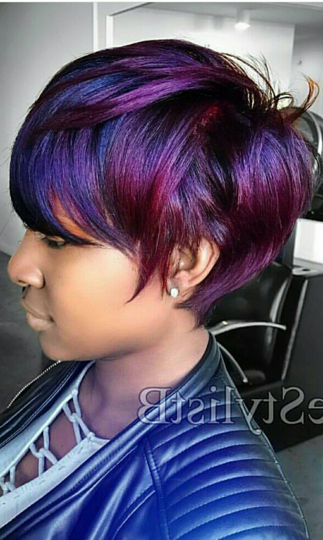 Pin On Short Relaxed Hair (View 12 of 20)