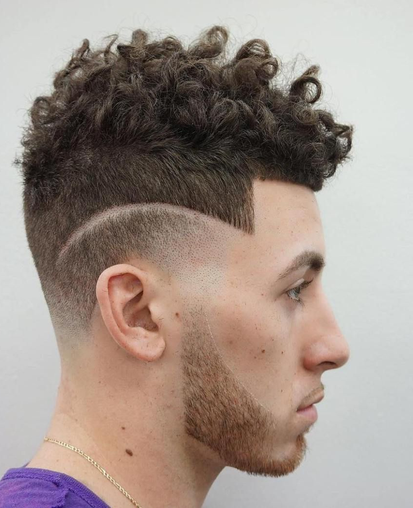 Pin On Ultra Clean Line Up Haircuts Inside Famous Sharp And Clean Curly Mohawk Haircuts (Gallery 2 of 20)