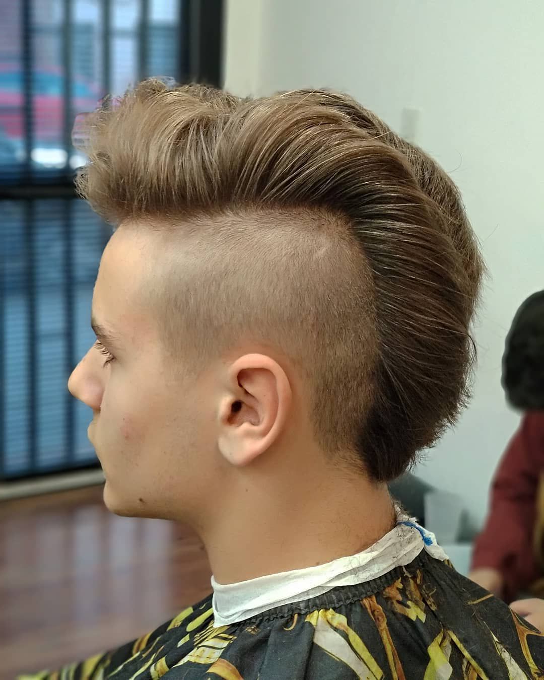 Featured Photo of Shaved And Colored Mohawk Haircuts