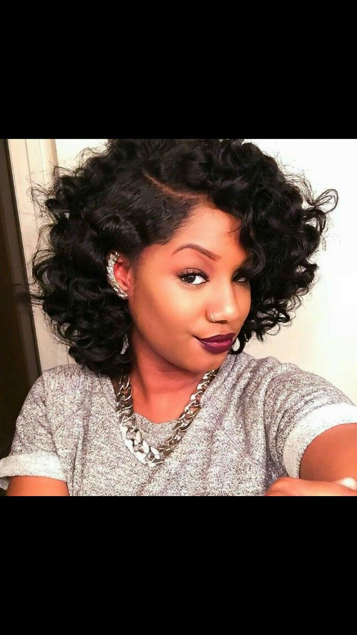 Pindesiree On Hairstyles To Do List In 2019 | Curly Hair Intended For Short Pixie Haircuts With Relaxed Curls (View 17 of 20)