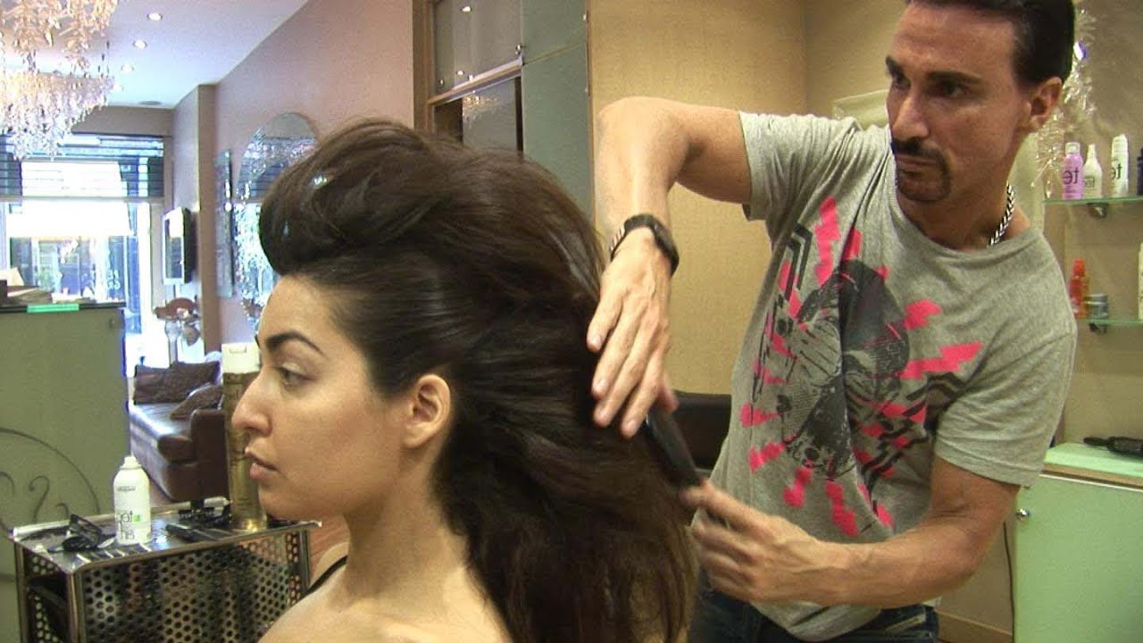 Popular Medium Length Hair Mohawk Hairstyles Pertaining To How To Create A Faux Hawk Tutorial For Women, For Medium And Long Hair, Stuart Phillips (Gallery 17 of 20)