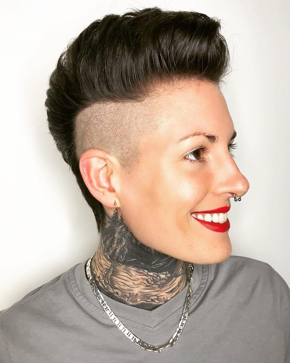 Popular Rocker Girl Mohawk Hairstyles With Regard To 19 Punk Hairstyles For Women (Trending In 2019) (View 14 of 20)