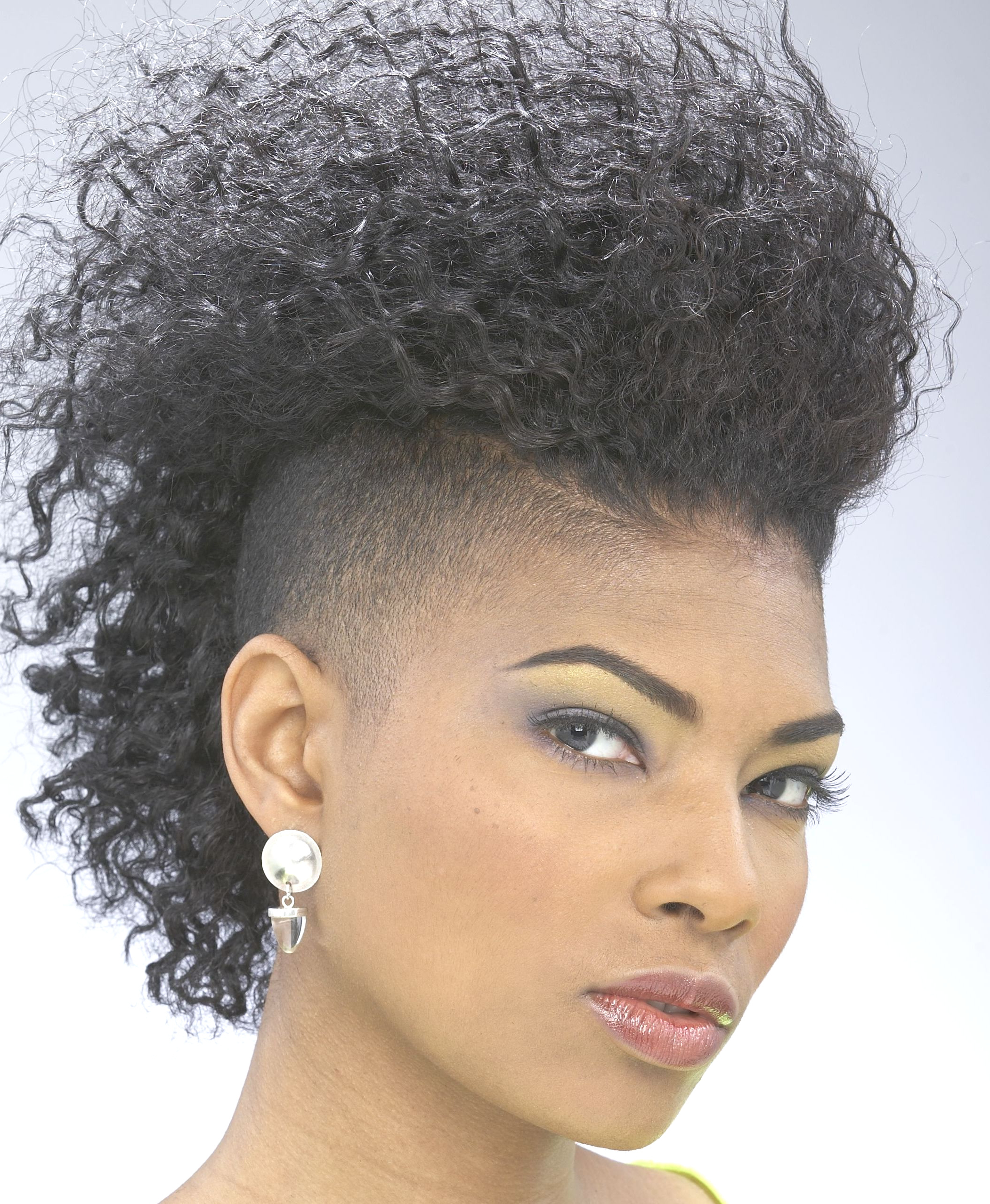 Preferred Short Hair Mohawk Hairstyles Throughout Fashion : Mohawk Hairstyle Wonderful Mayang Short Hair (View 12 of 20)
