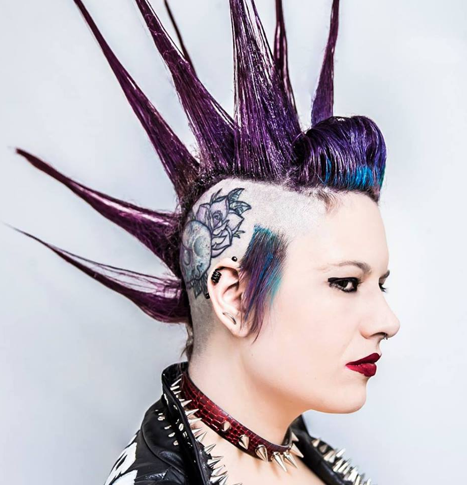 Punk Hairstyles – Spiked Punk Mohawk For Famous Long Hair Roll Mohawk Hairstyles (Gallery 18 of 20)