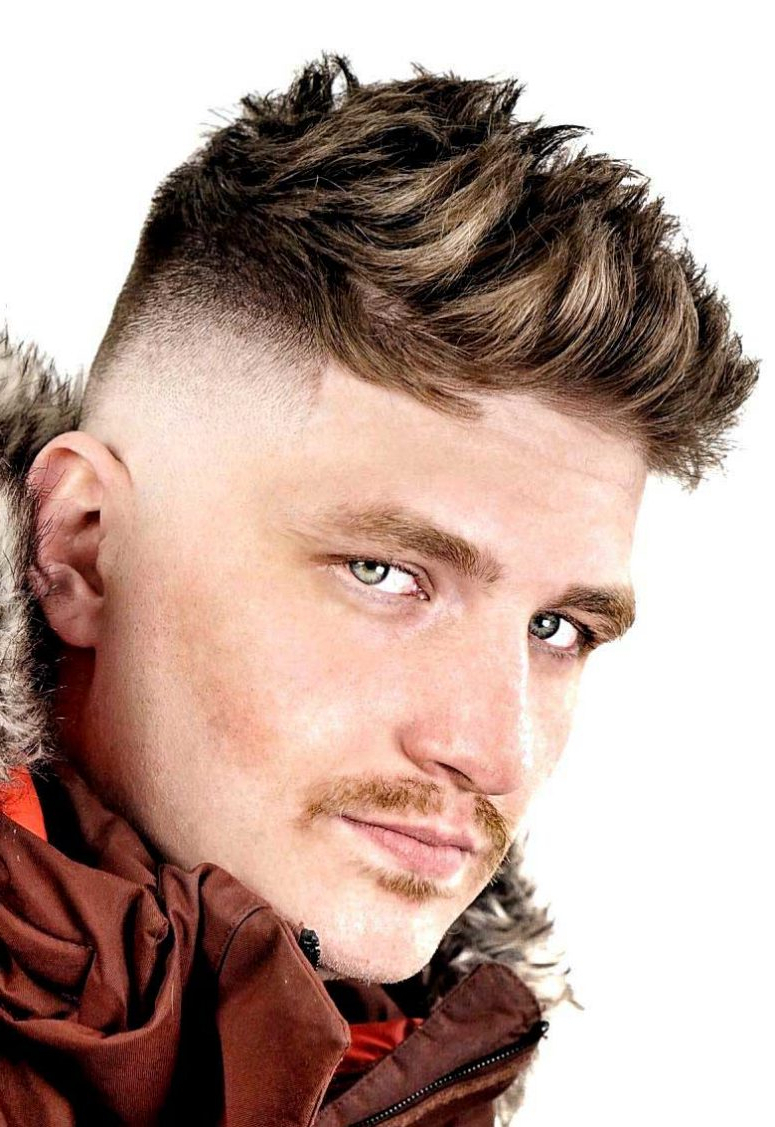 Recent Fauxhawk Haircuts Regarding 15 Bold Faux Hawk Haircuts For Men – Styleoholic (View 16 of 20)