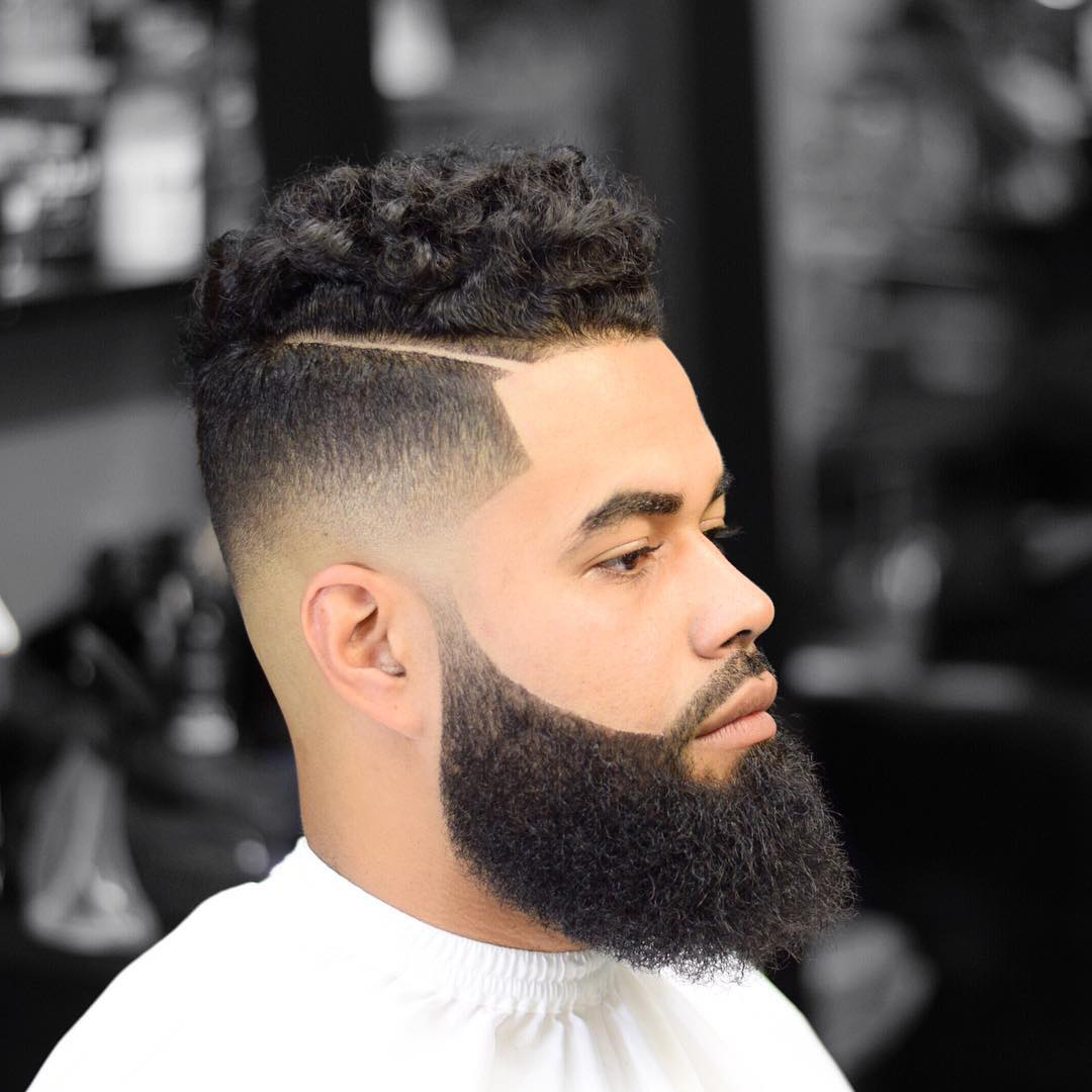 Recent Long Luscious Mohawk Haircuts For Curly Hair Throughout 30 New Stylishly Masculine Curly Hairstyles For Men (View 10 of 20)