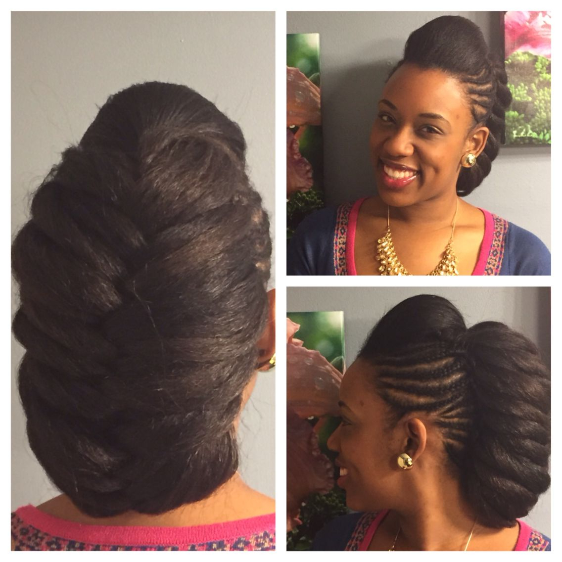 Rock This Protective Style For A Mix Of Class And Fun Throughout Most Current Center Braid Mohawk Hairstyles (View 13 of 20)