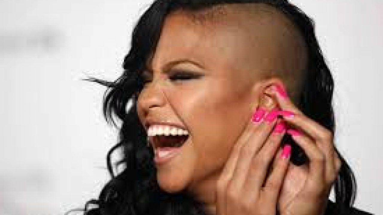Sexy Cassie Haircuts: Cassie Shaved Head Pictures – Trendy Pertaining To Popular Cassie Bun Mohawk Hairstyles (View 11 of 20)