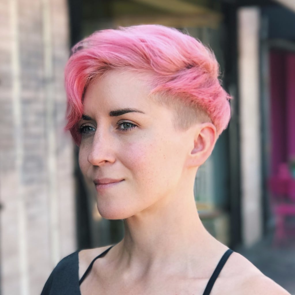 Short Bright Coloured Hairstyles | Popsugar Beauty Uk Regarding Bright Bob Hairstyles (View 15 of 20)
