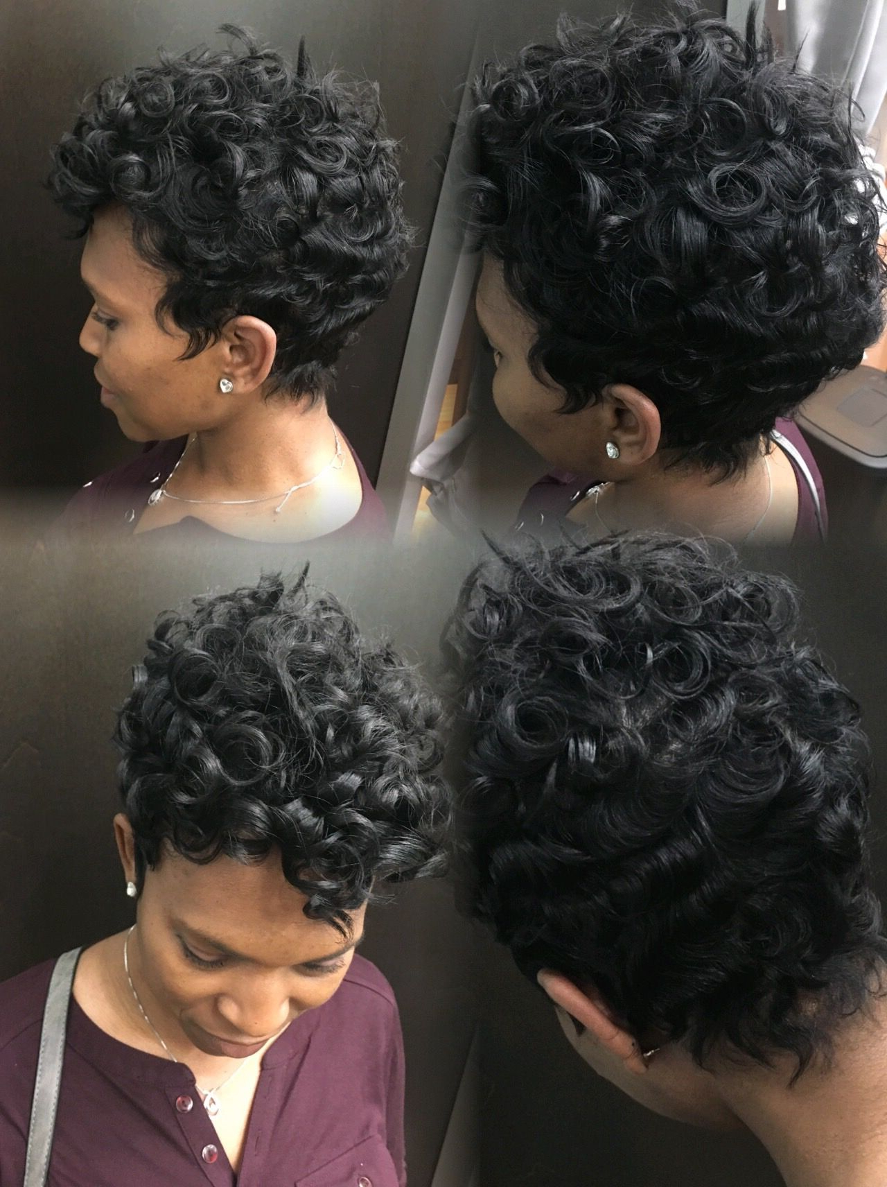 Featured Photo of Short Pixie Haircuts With Relaxed Curls