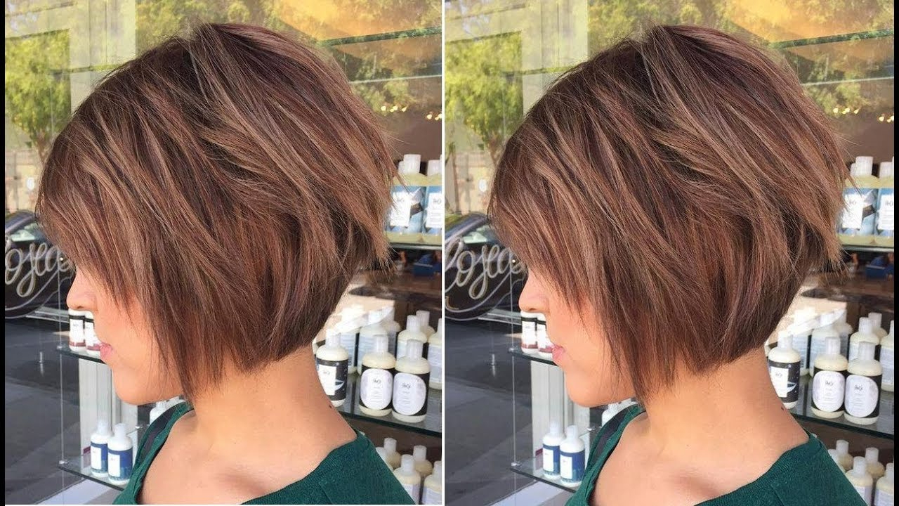 Short Hairstyle : Amusing Shortob With Layers Hairstyles With Regard To Layered Short Bob Haircuts (View 11 of 20)