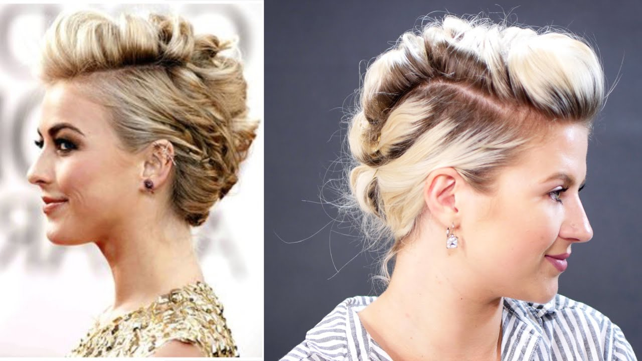 Short Hairstyle Julianne Hough How To Faux Hawk Hair Tutorial (View 16 of 20)