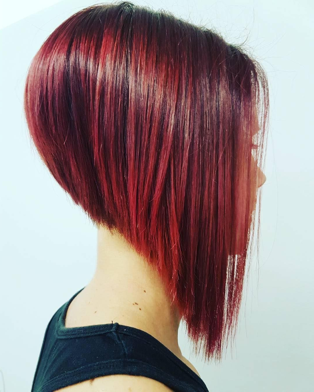 Short Hairstyles 2018 | Short Red Hairstyles | Edgy Bob Intended For Edgy Red Hairstyles (View 3 of 20)