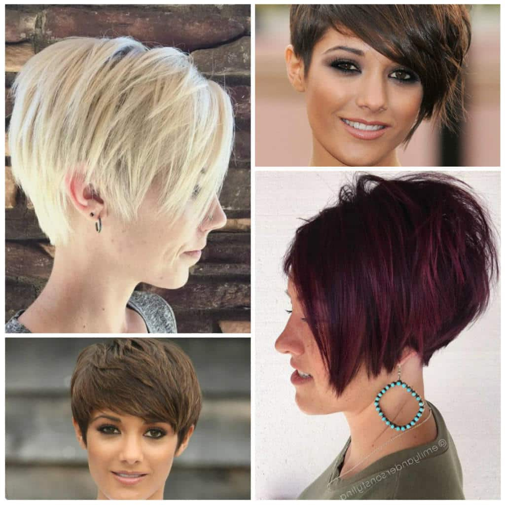 Short Pixie Haircuts 2017 – Short And Cuts Hairstyles For Bold Pixie Haircuts (View 18 of 20)