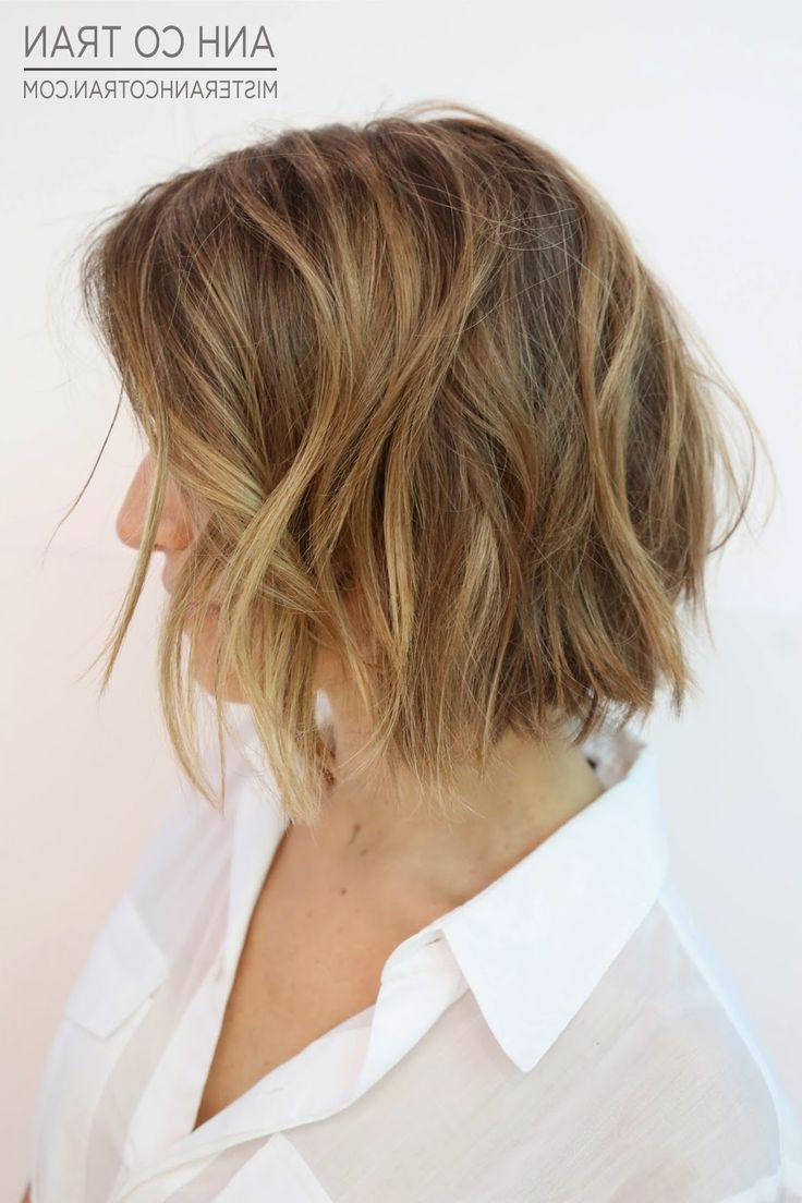 Side View Of Layered Short Bob Haircuts 2016 – Hairstyles Weekly Inside Layered Short Bob Haircuts (View 13 of 20)