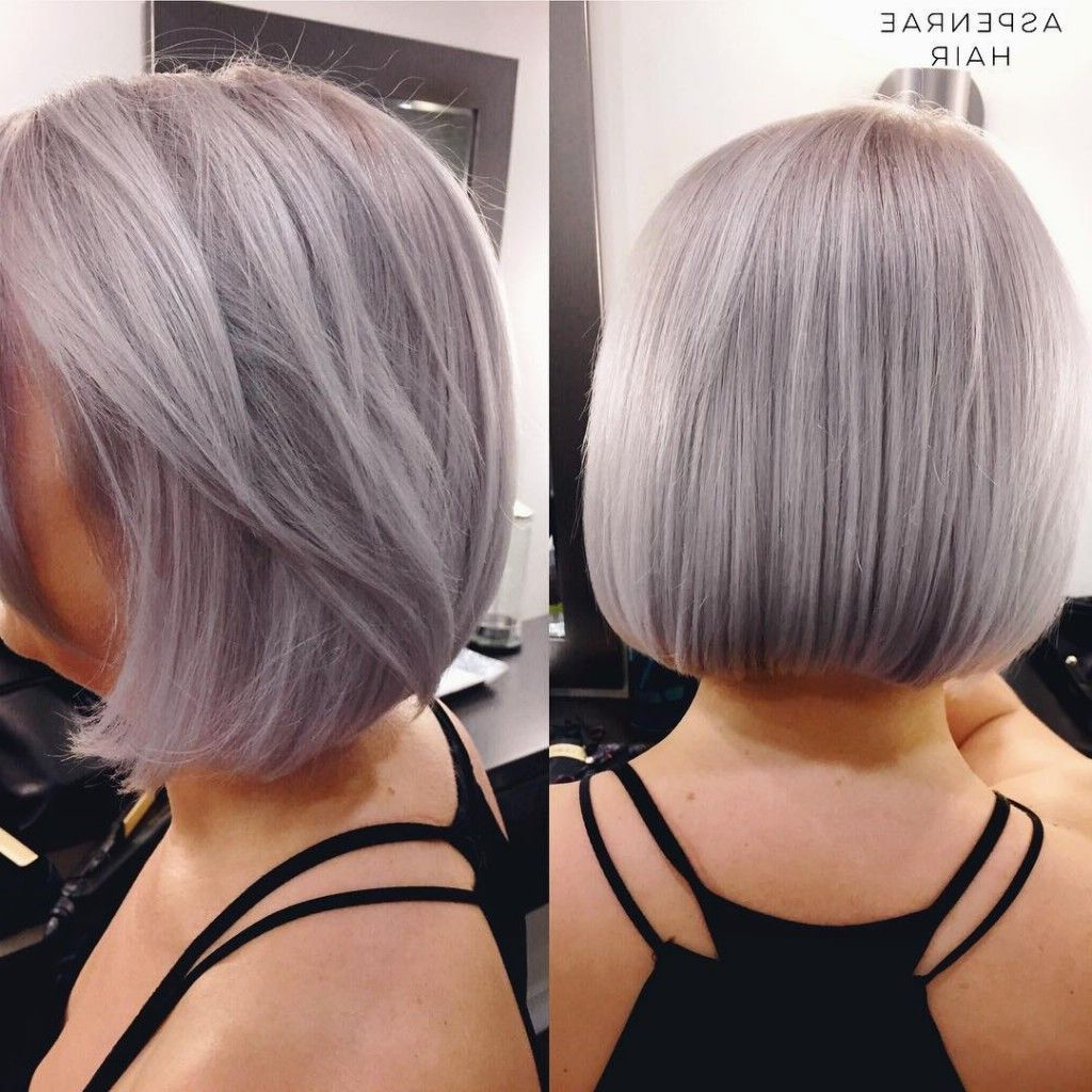 Silver Bob | Bob Hair Color, Hair, Cool Hair Color Intended For Silver Short Bob Haircuts (View 4 of 20)