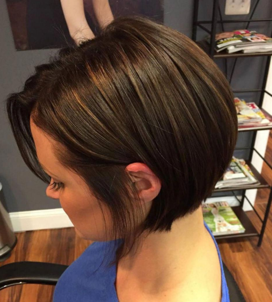 Sleek Bob For Thick Hair #shorthairstyles | My Style | Short Throughout Trendy And Sleek Bob Haircuts (View 20 of 20)