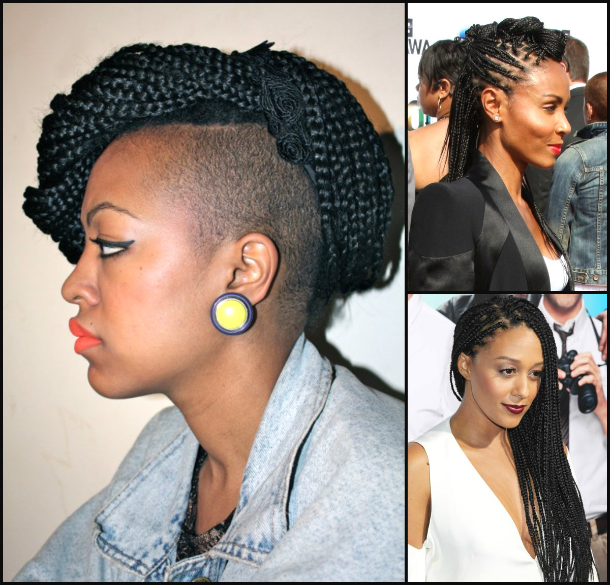 Small Box Braids Really Rock (View 14 of 20)