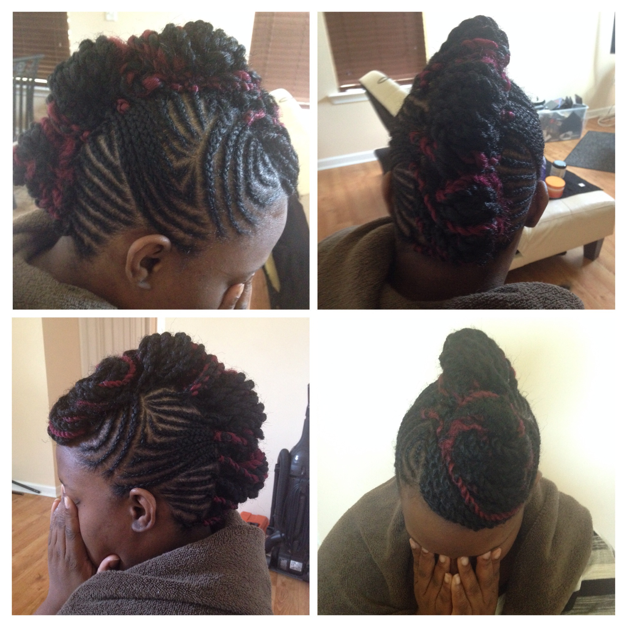 So Marley: How To On Marley Twist Mohawk (View 17 of 20)
