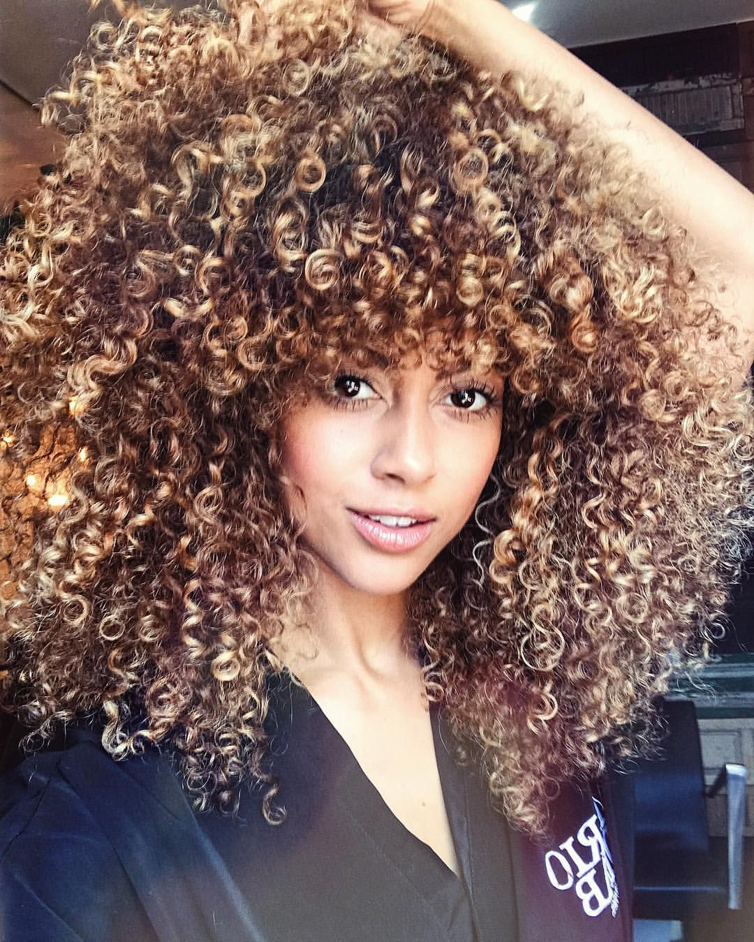 Started From The Bottom Now We're Hair #curls #blonde With Regard To Curls And Blonde Highlights Hairstyles (View 4 of 20)