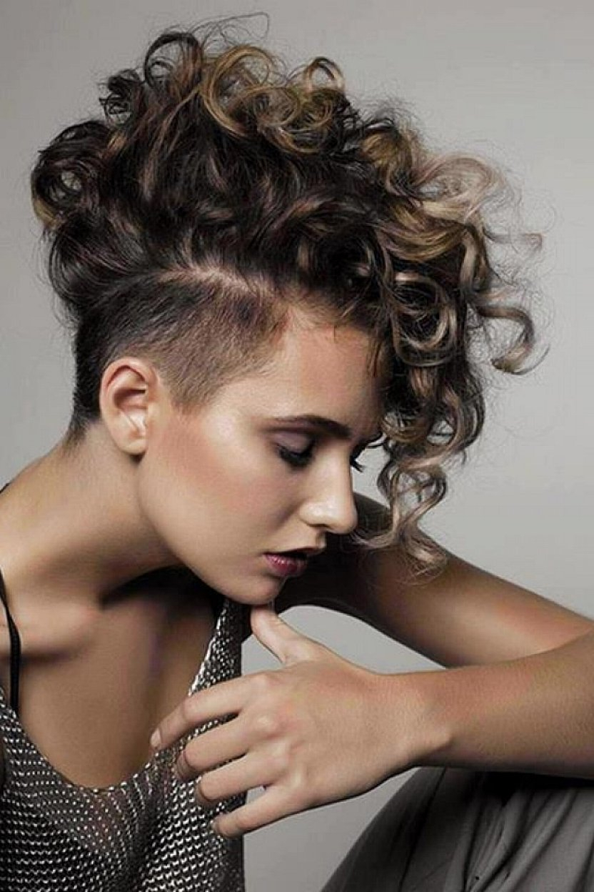 Styles Weekly Inside Most Up To Date Pixie Mohawk Haircuts For Curly Hair (View 18 of 20)