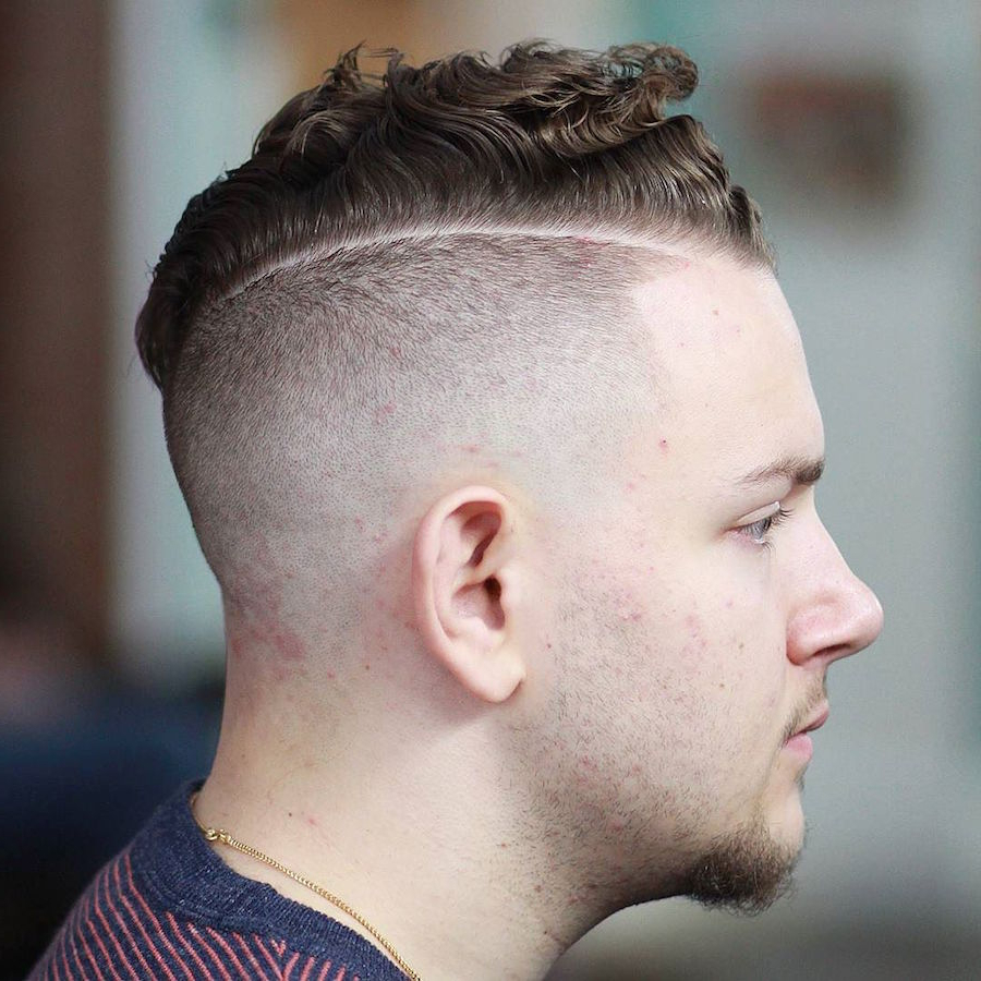 The 50 Best Curly Hair Men's Haircuts + Hairstyles Of 2018 Throughout Fashionable Mohawk Haircuts On Curls With Parting (View 16 of 20)