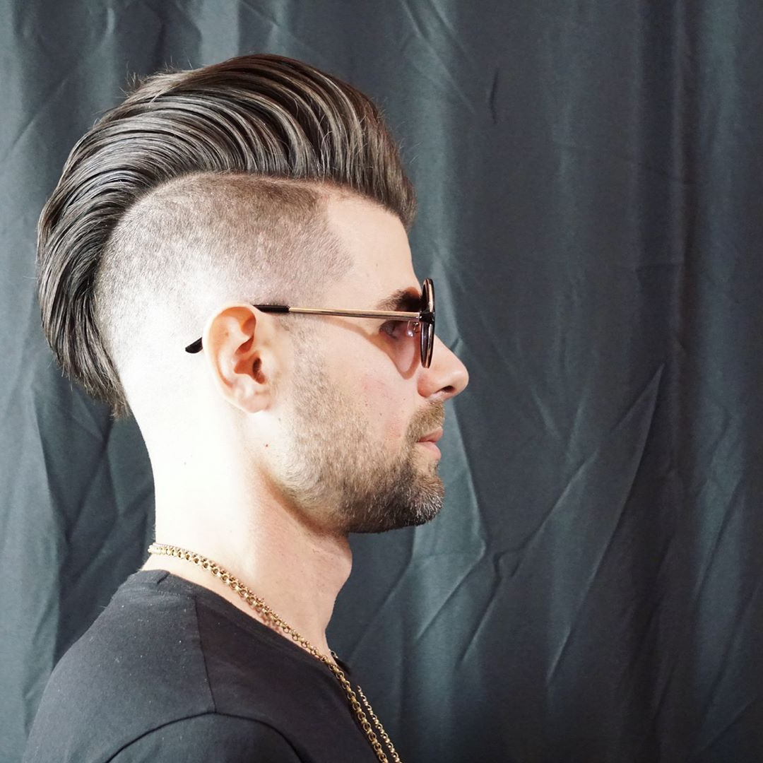 The Mohawk Haircut Within Popular Long Hair Mohawk Hairstyles With Shaved Sides (View 16 of 20)