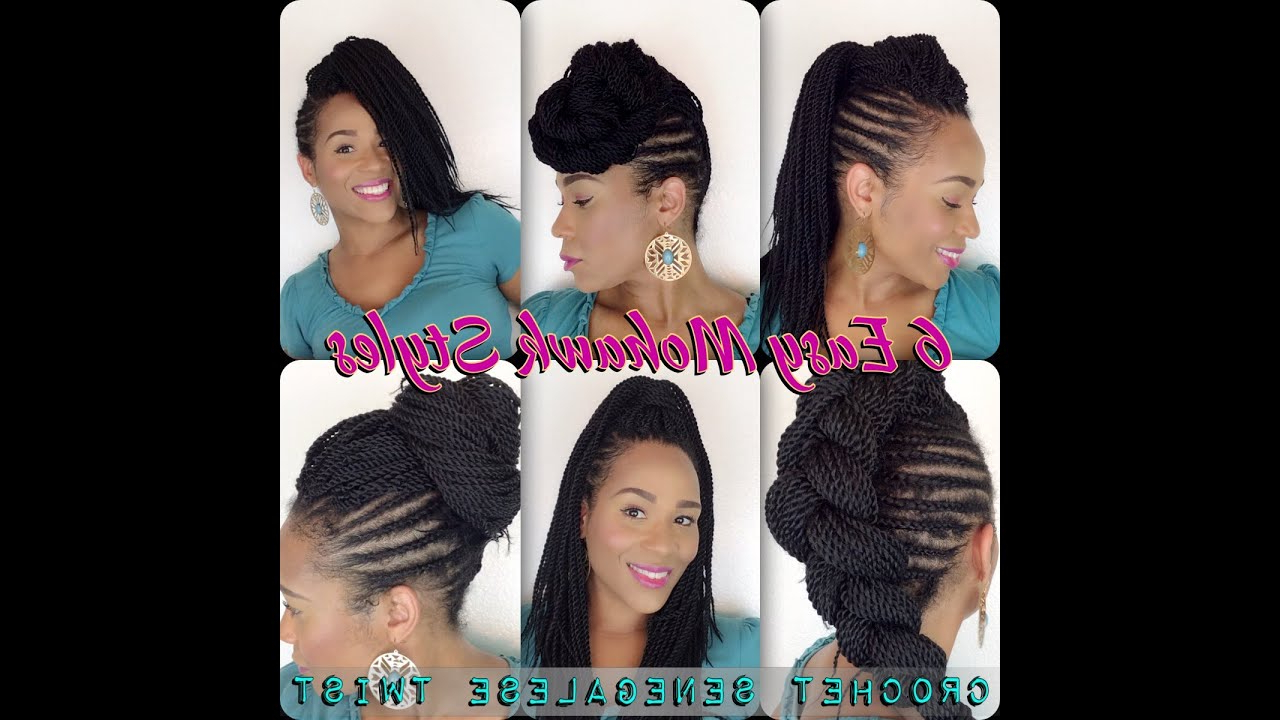 Tia Kirby For Preferred Twisted Braids Mohawk Hairstyles (View 19 of 20)