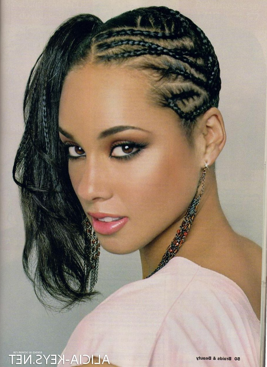 Featured Photo of Alicia Keys Glamorous Mohawk Hairstyles