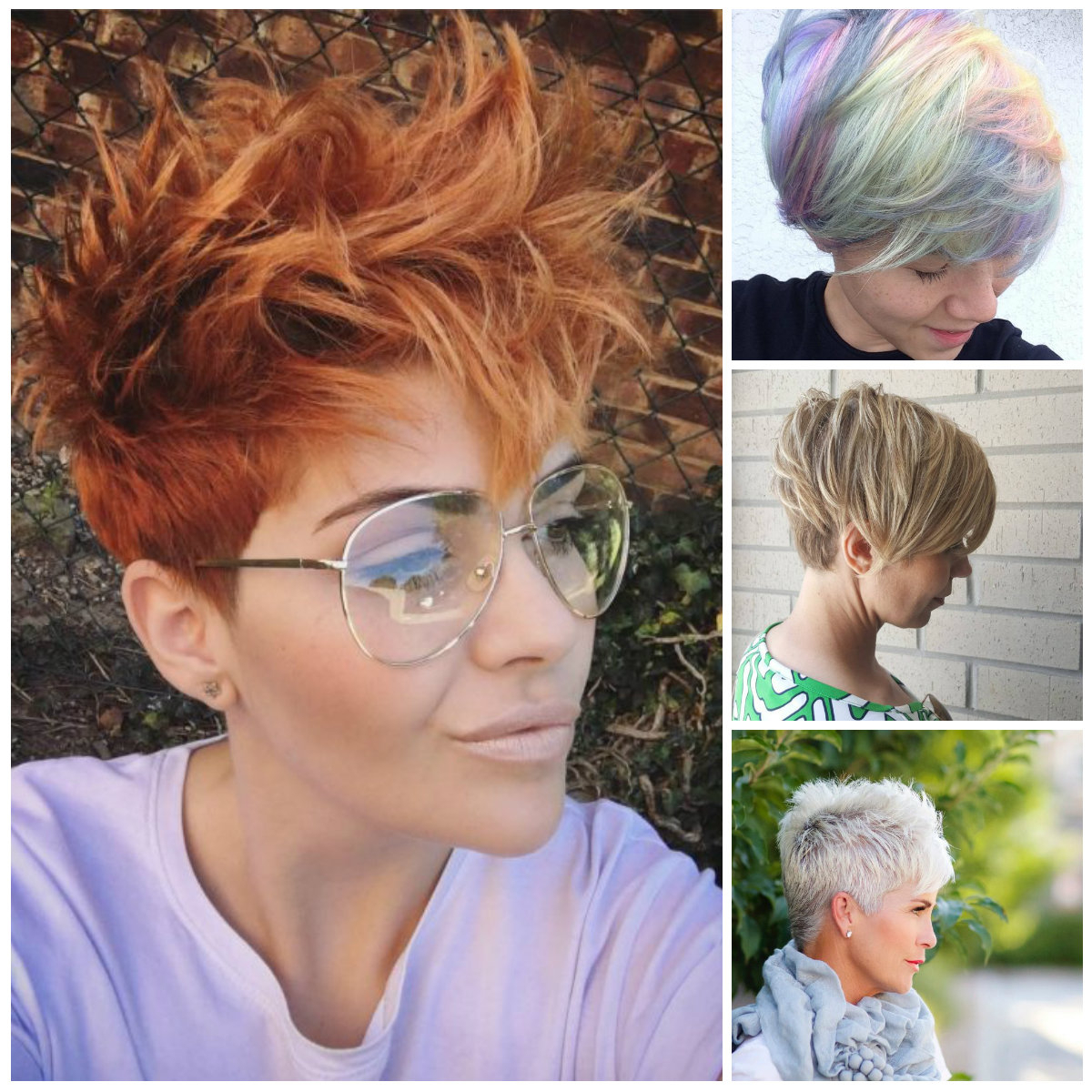 Trendy Pixie Haircuts For 2017 | 2019 Haircuts, Hairstyles For Bold Pixie Haircuts (View 20 of 20)