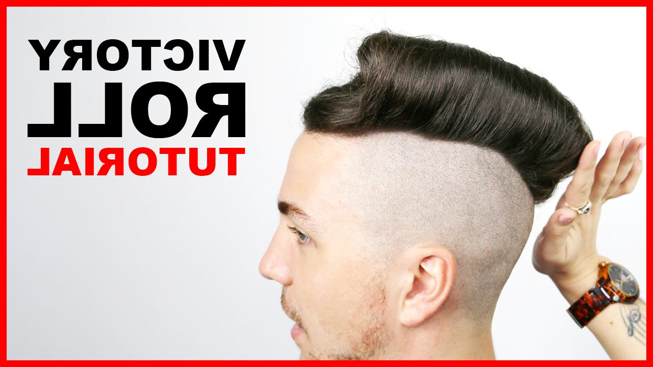 Victory Roll Tutorial – Men's Hair Styles 2016 (Short Version) Throughout Recent Victory Roll Mohawk Hairstyles (View 19 of 20)