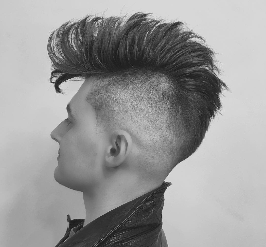 Well Known Long Straight Hair Mohawk Hairstyles Throughout 17 Long Men's Hairstyles For Straight And Curly Hair (Gallery 19 of 20)